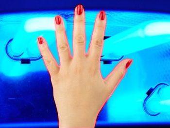 vredna li lampa dlya gel laka, vredna li uv lampa, vred uv lampy dlya nogtey, vredno li derzhat ruki v lampe dlya manicura, vreden li manicur gel lakom, vred ultrafioleta dlya kozhy, vred ultrafioletovyh luchey, vliyanie ultrafioletovyh luchey na kozhy, mozhet li uv-lampa vyzvat rak, mozhet li ultrafiolet sprovocyrovat rak kozhy